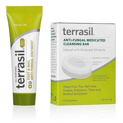 Terrasil Antifungal Treatment Max Strength with Clotrimazole, Treats